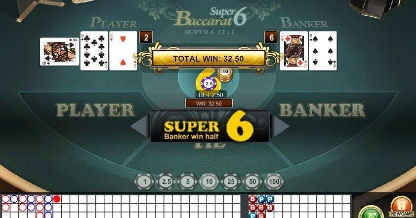 Judi Online Super 6 Baccarat