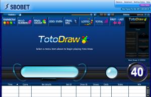 jenis permainan toto draw sbobet